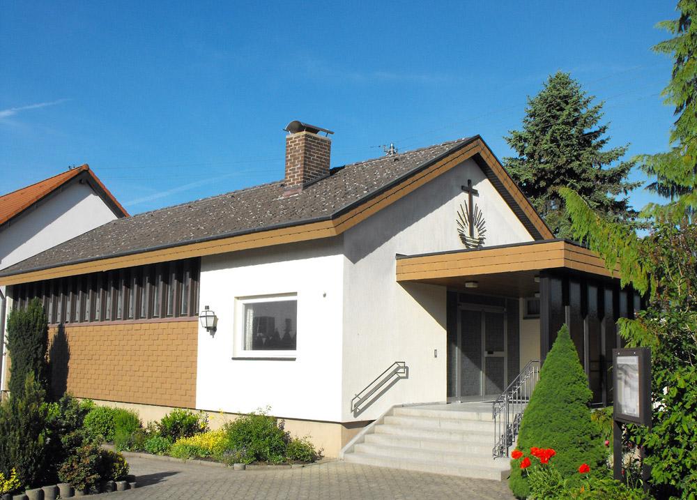 Gebäudeansicht Neuapostolische Kirche Neuweiler
