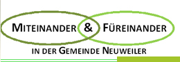 Logo Miteinander und Fuereinander