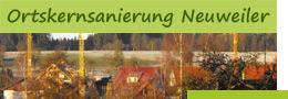 Wildbader Weg mit Link zur Seite Ortskernsanierung Neuweiler