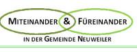 Logo Miteinander und Füreinander in der Gemeinde Neuweiler