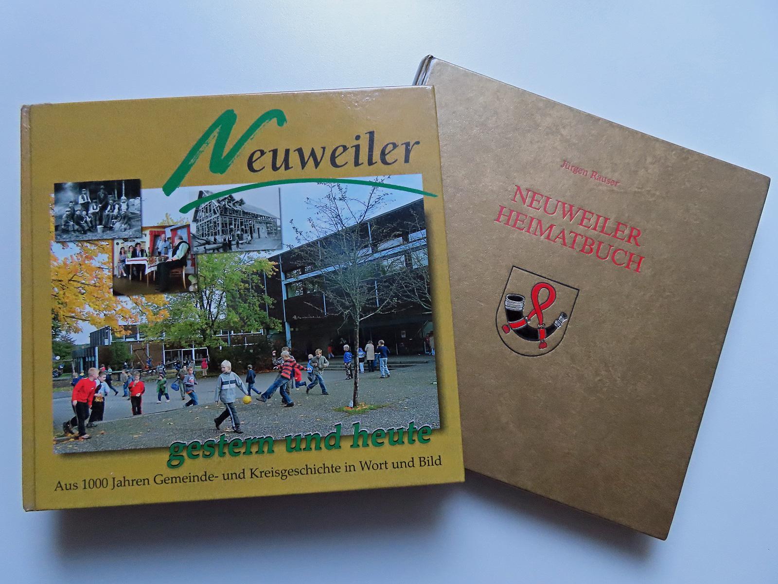 Abbildung neues und altes Heimatbuch