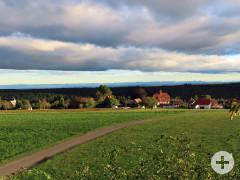 Aussichtspunkt in Agenbach