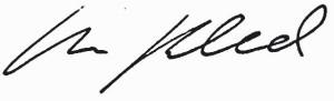 Unterschrift Martin Buchwald