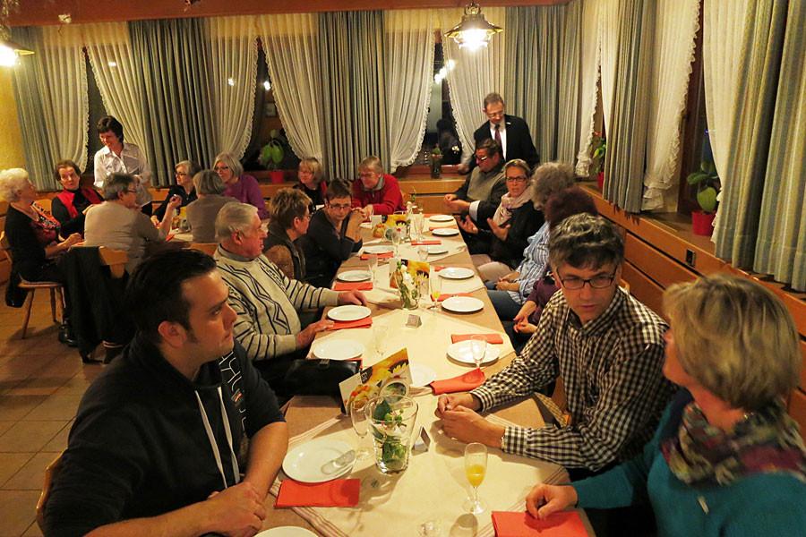 Abend für Ehrenamtliche zum Projekt PräSenZ
