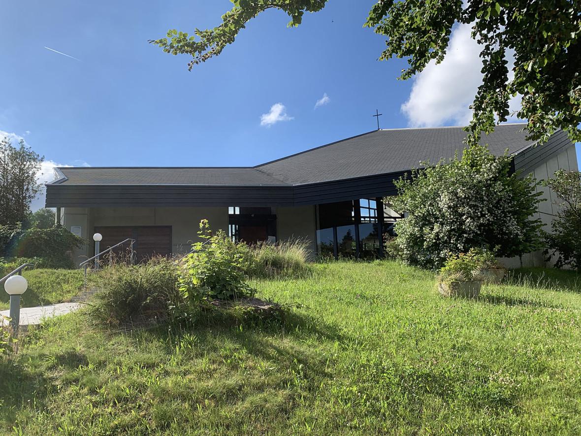 Evangelische Kirche im Ortsteil Agenbach