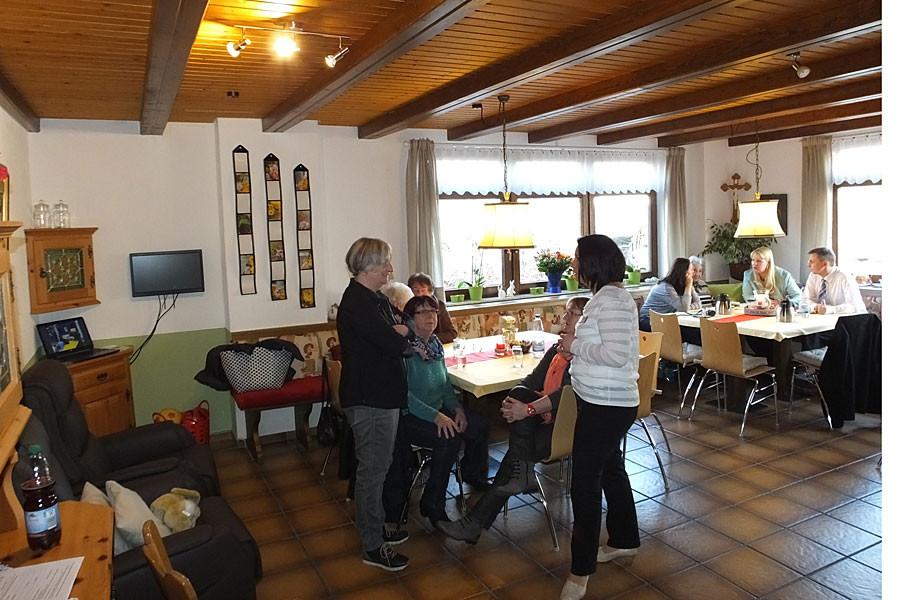 Gemeinschaftsraum im Seniorentreff Herbstrose