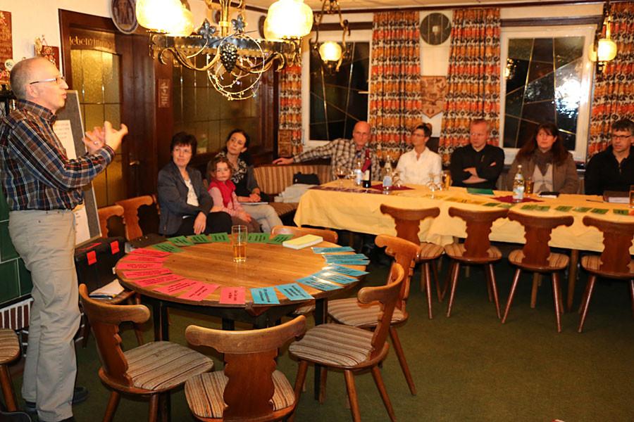 Teilnehmer beim Leader-Treffen am 28.2.2014 Bild 2